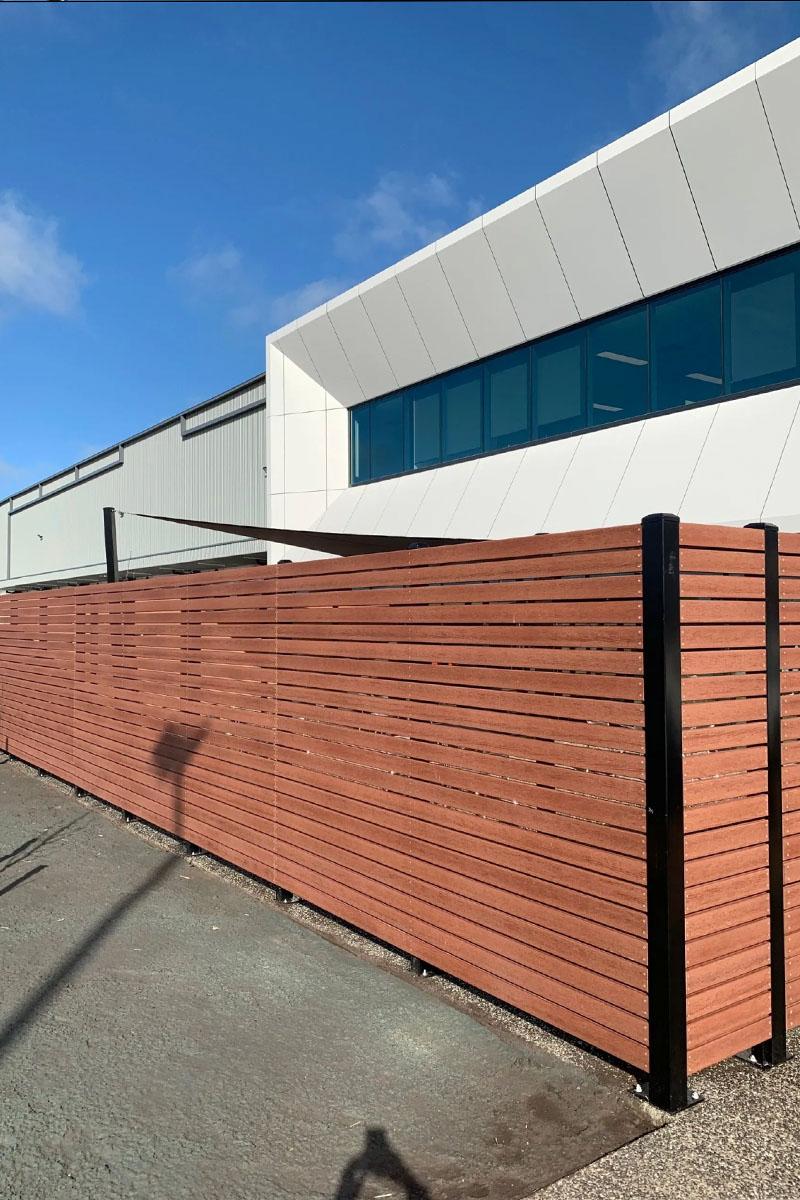 modwood business fencing Melbourne PFD foods close up