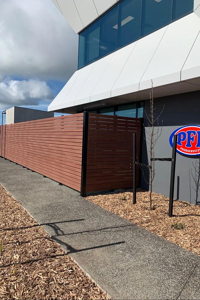 modwood business fencing Melbourne PFD foods