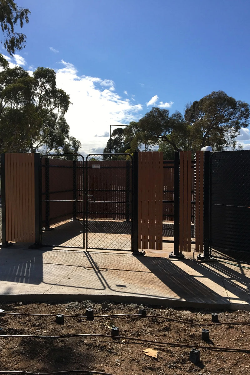Water tank fencing solution Victoria