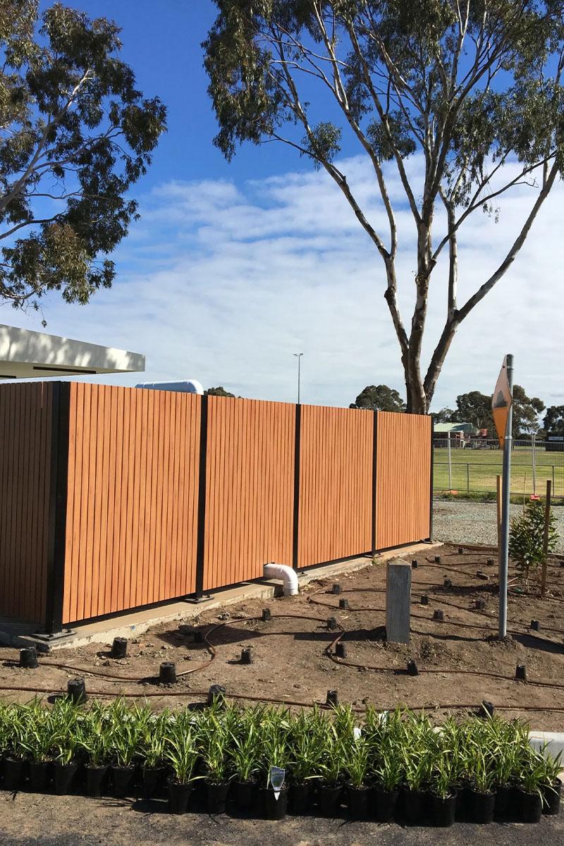 Modwood fencing in Melbourne