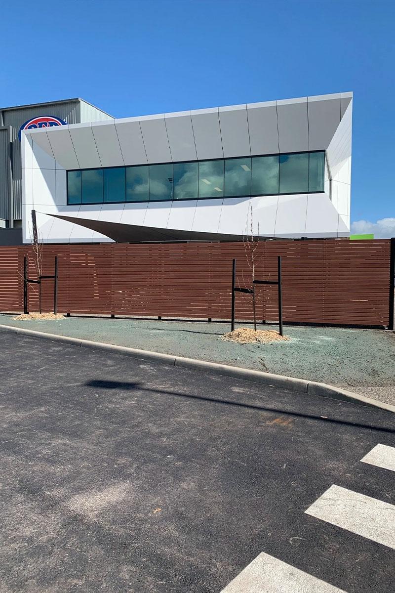 modwood business fencing Melbourne