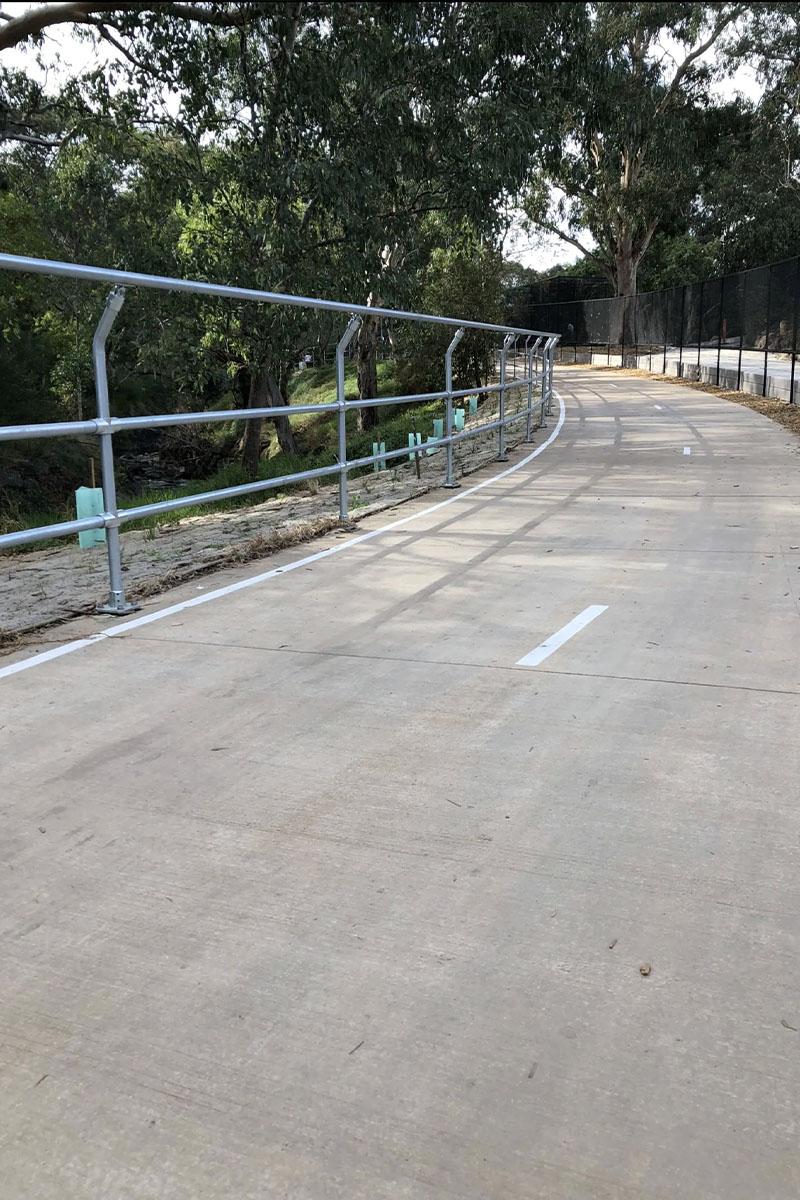 Bike Safety Barrier Melbourne