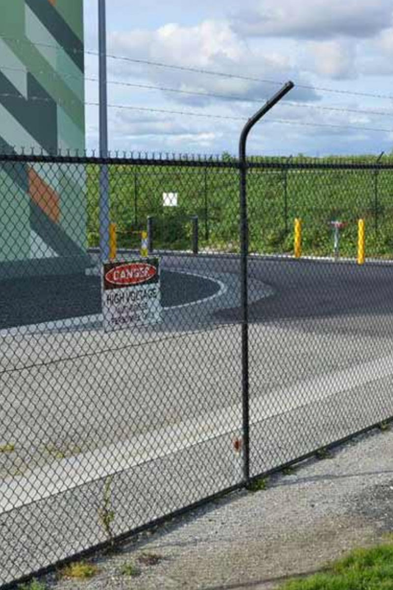 Melbourne Desalination Plant Security Fencing Outside Perimeter After Photo