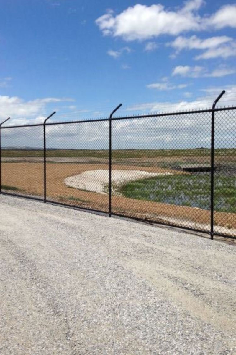 Melbourne Desalination Plant Security Fencing Outside Perimeter