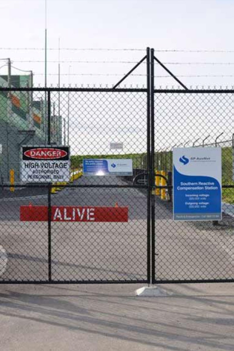 Melbourne Desalination Plant Security Fencing