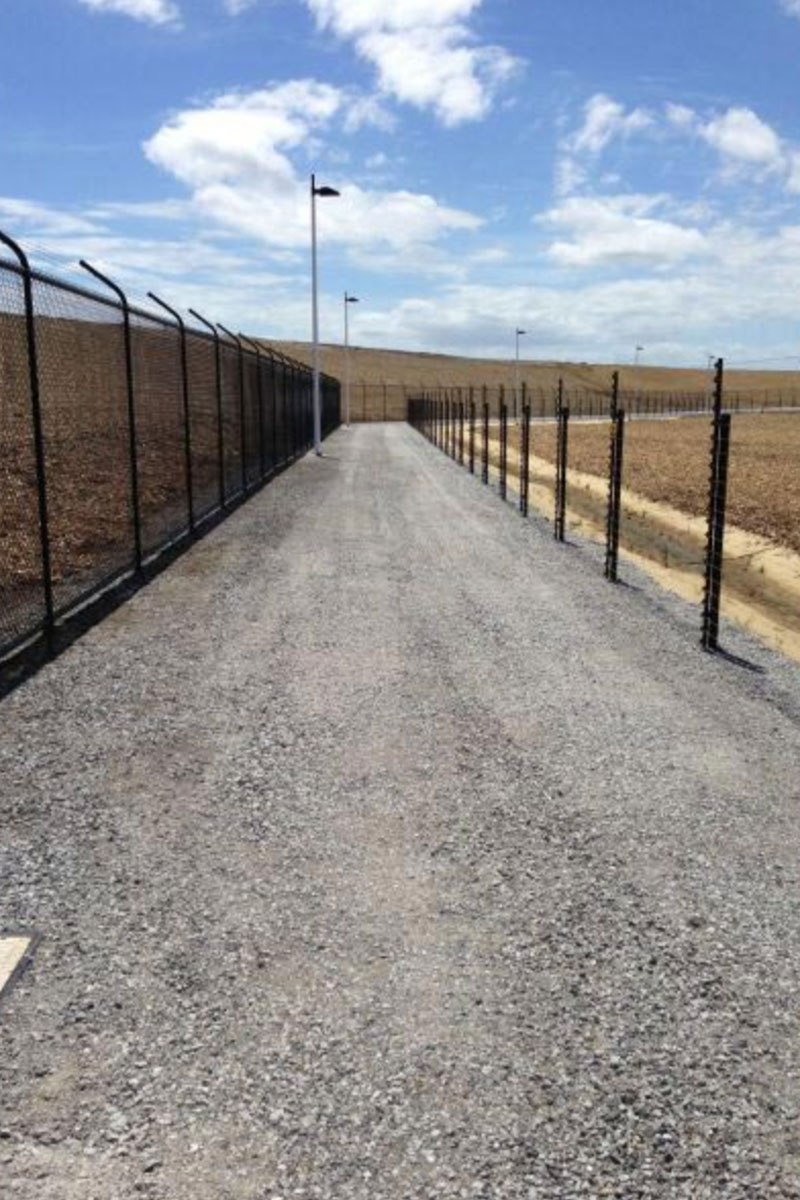 Melbourne Desalination Plant Fencing