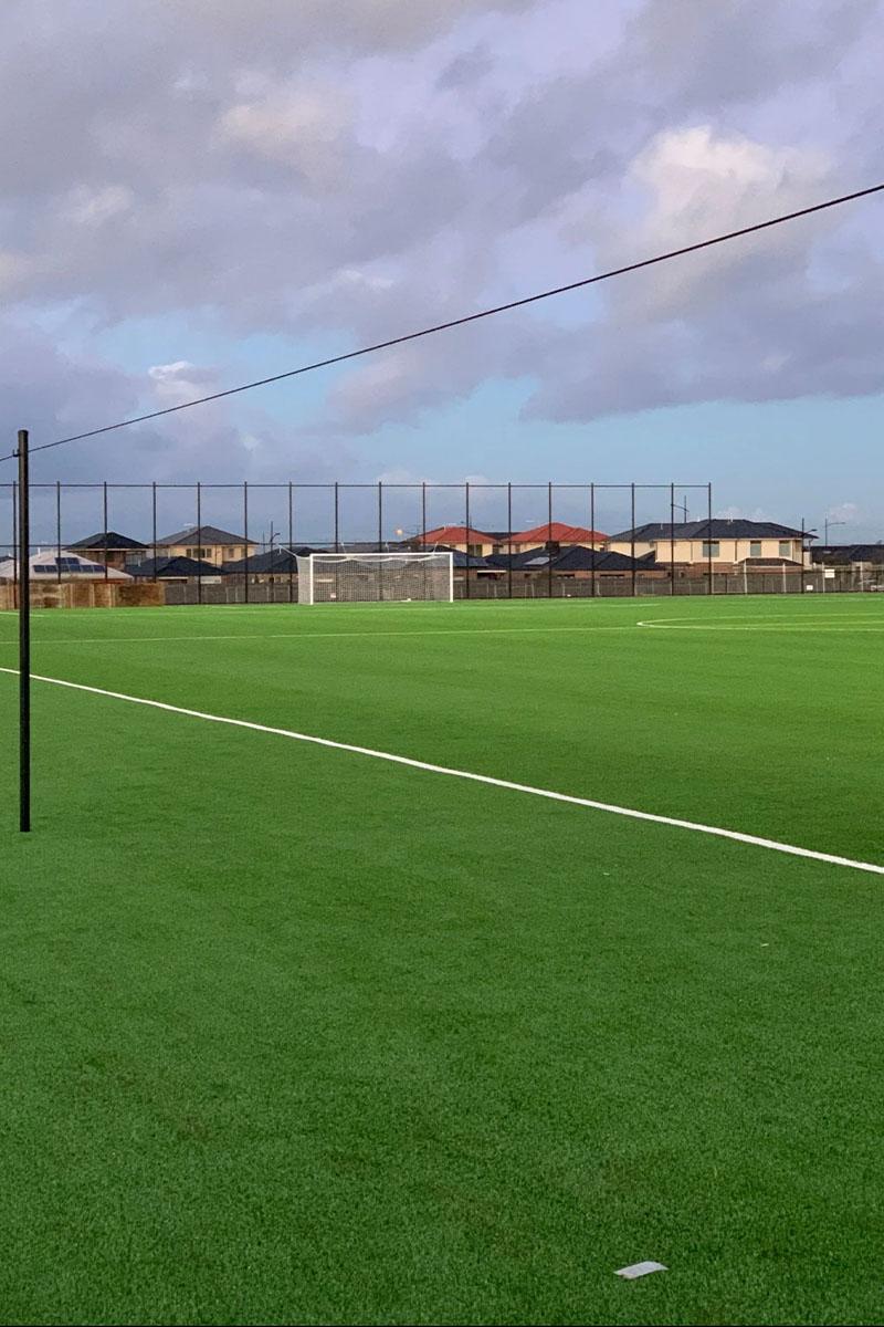 Soccer oval sports fencing Melbourne