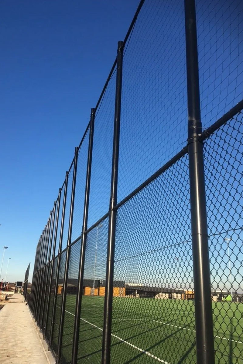 chain mesh sports fencing Melbourne