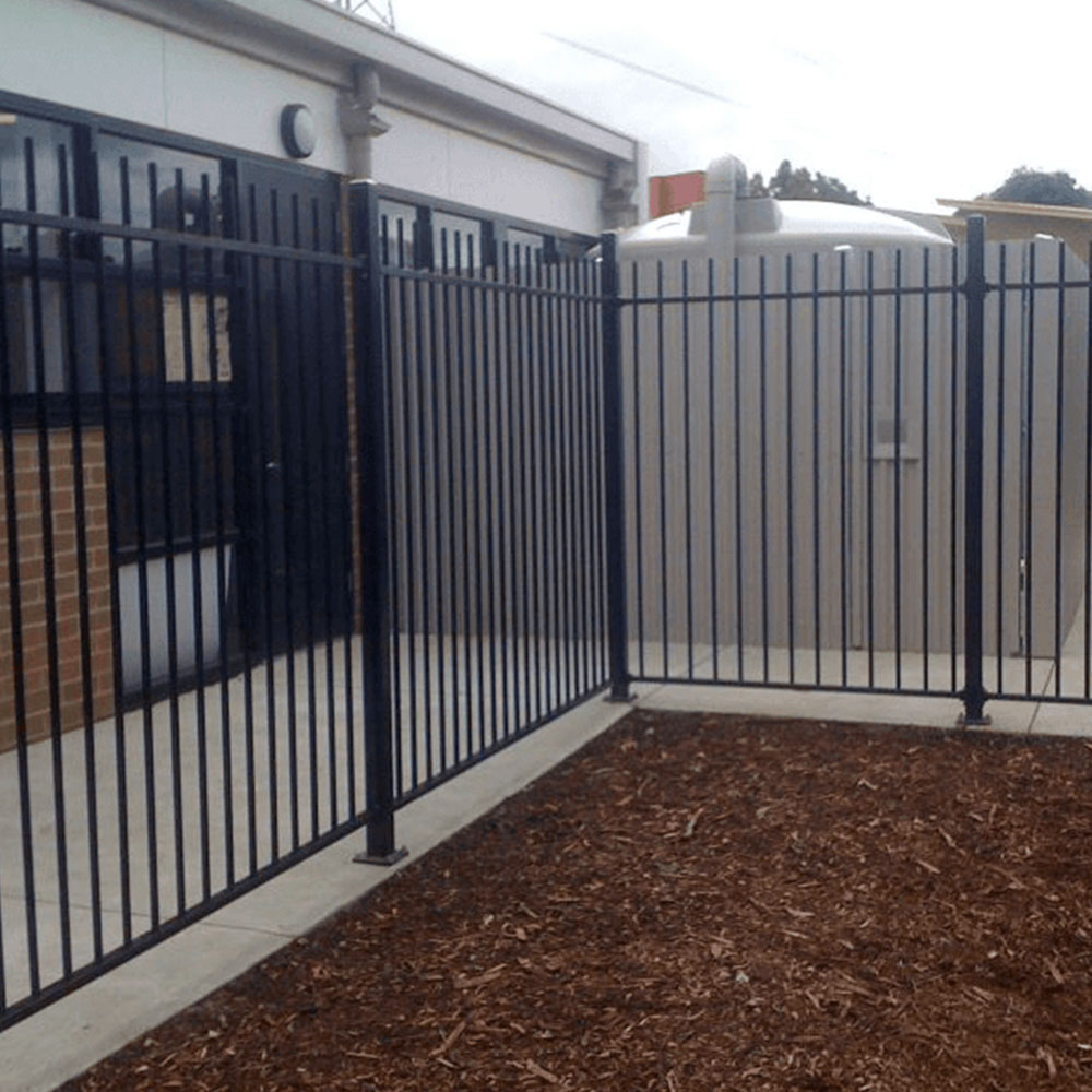 Childcare Centre Tubular Steel Fencing Melbourne
