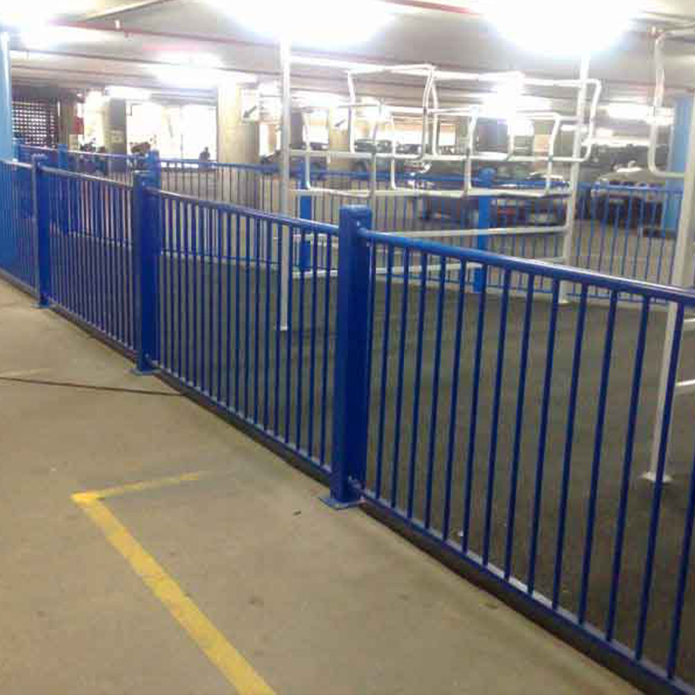 Indoor Car Park Tubular Steel Fencing Melbourne