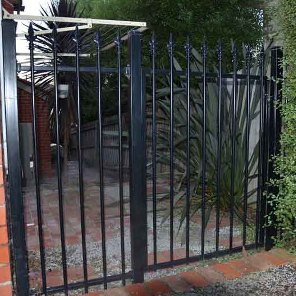 Residential Gate Tubular Steel Fencing Melbourne