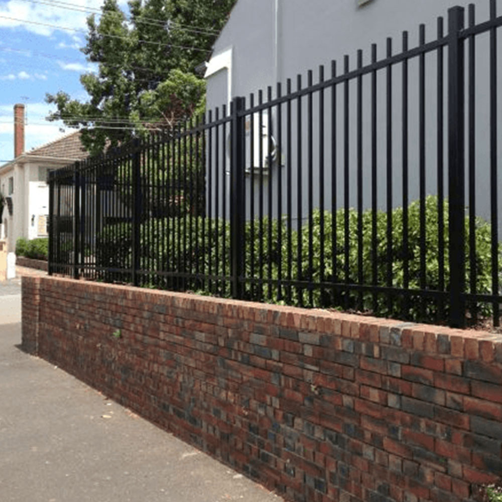Residential Tubular Steel Fencing Melbourne