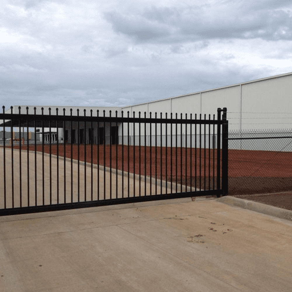 Security Tubular Steel Fencing Melbourne