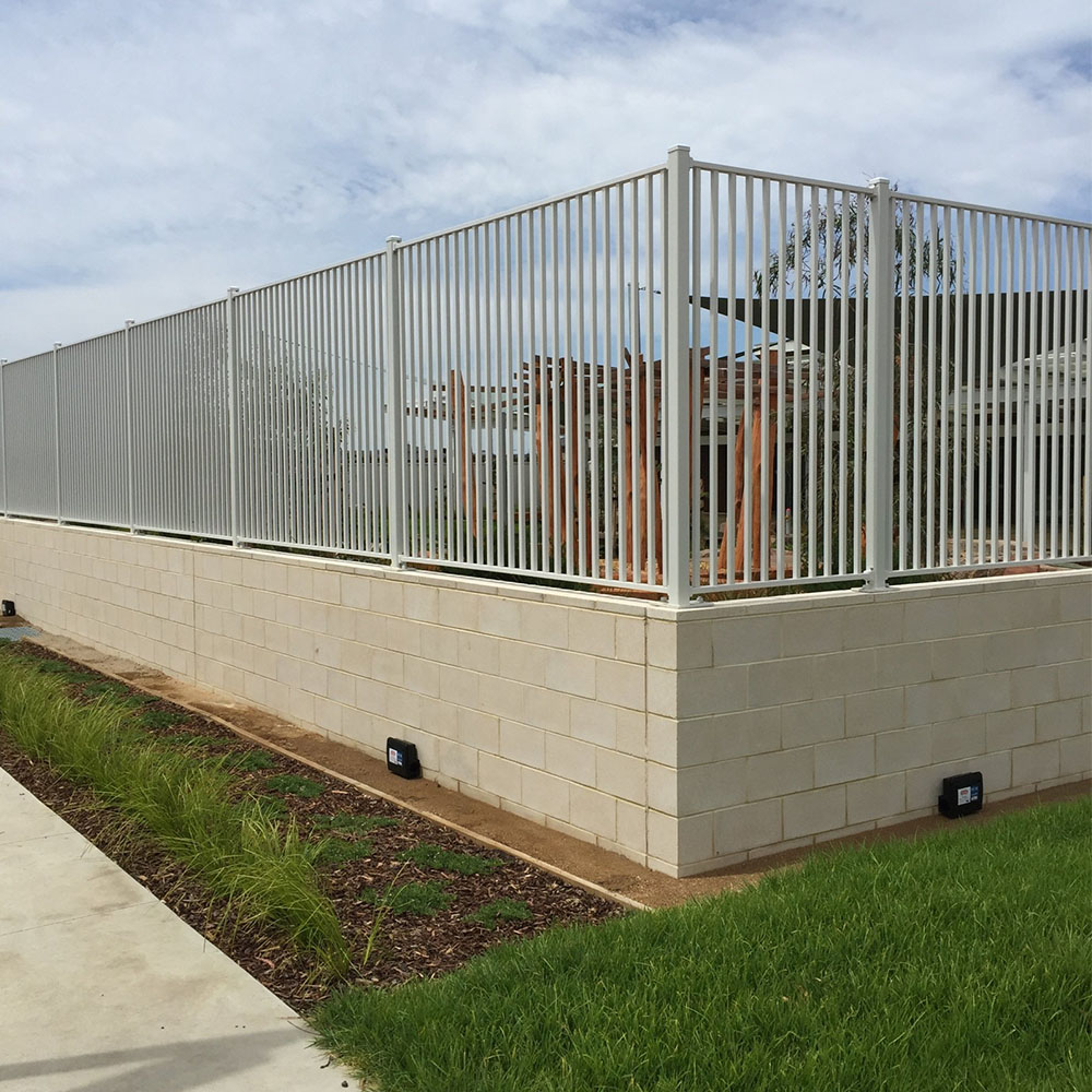 Tubular Steel Fencing Melbourne