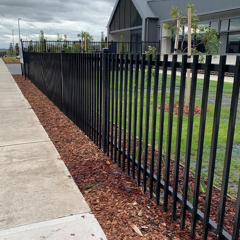 Tubular Steel Fencing Melbourne