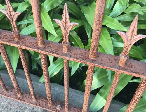Removing Rust From Iron Fencing