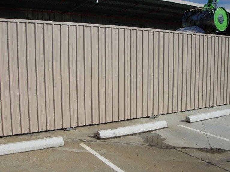 beige colorbond fence Melbourne
