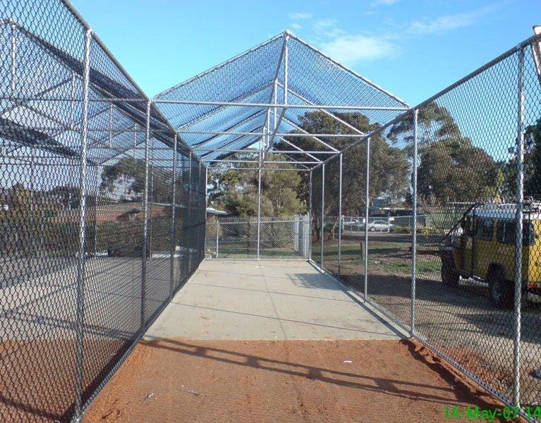 cricket sport fence construction Melbourne