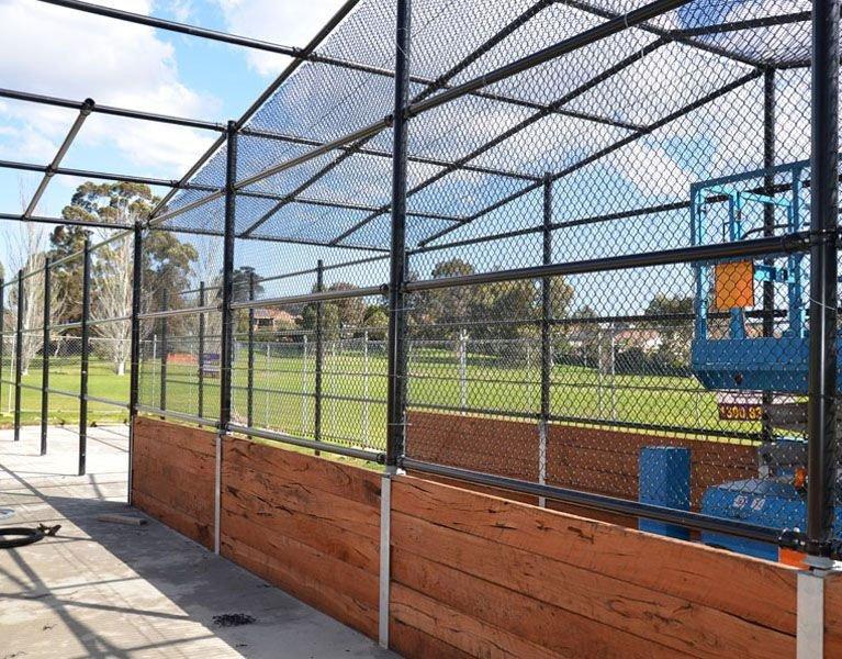 cricket wood sport fence Melbourne