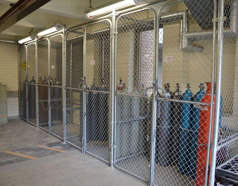 gas tank storage fence Melbourne