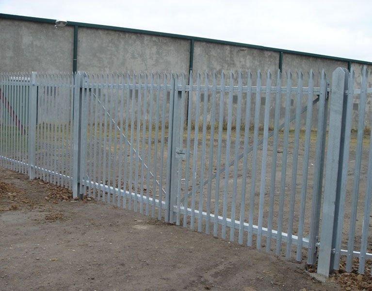grey security fence Melbourne