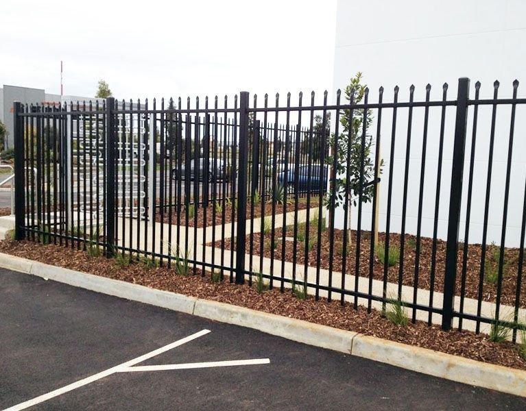 office carpark security fence Melbourne