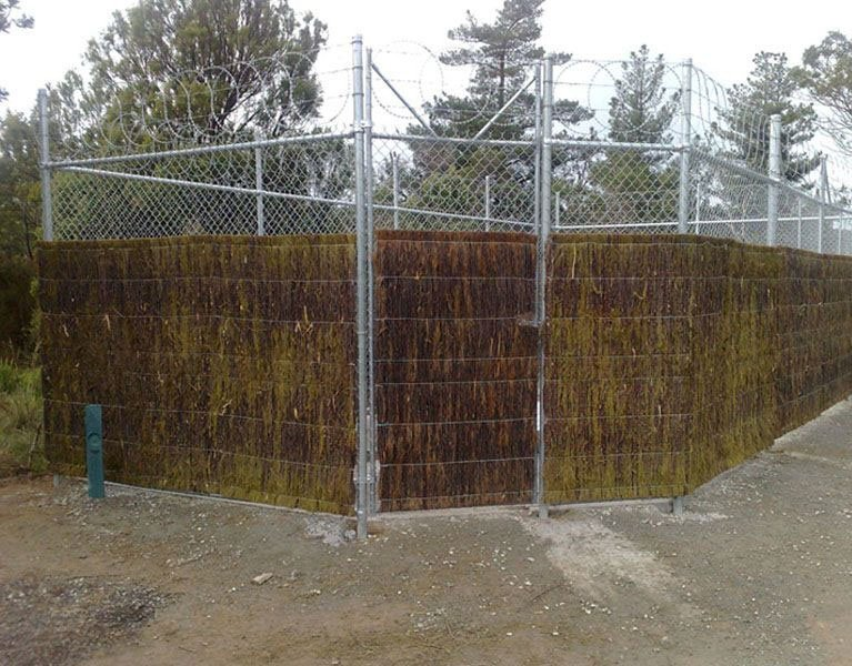 organic security fence Melbourne