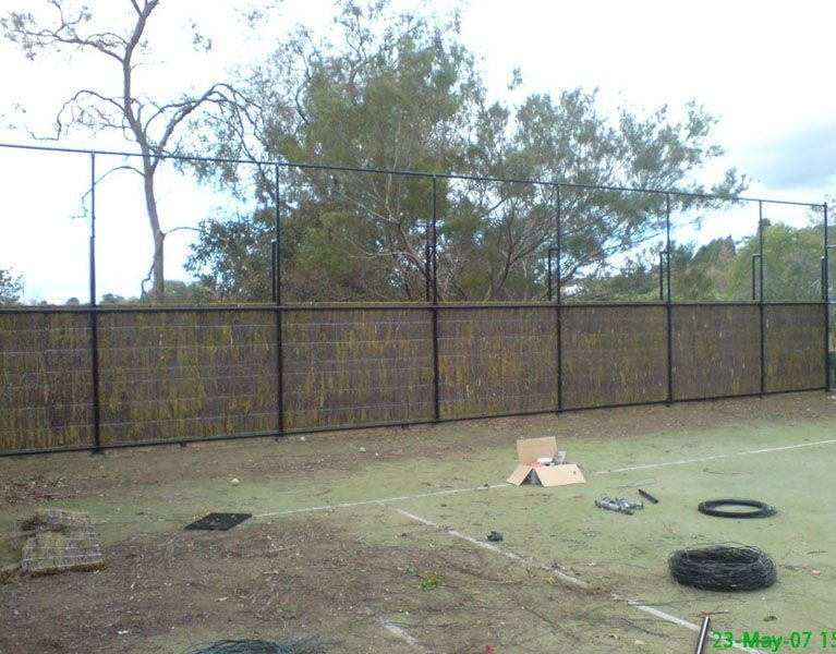organic sport fence construction Melbourne