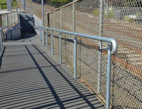 Cleaning Safety Rails