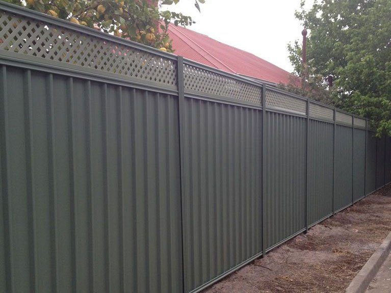 residential colorbond fence Melbourne
