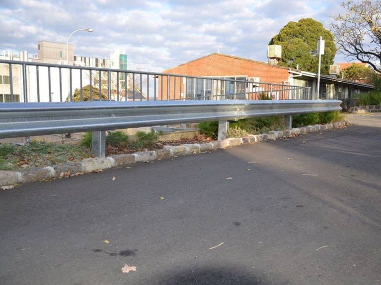 road safety barrier Melbourne