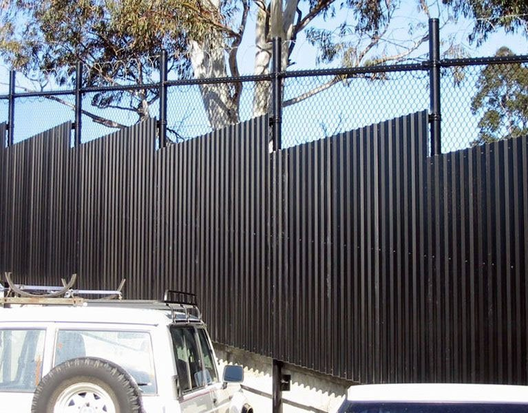 tall solid security fence Melbourne