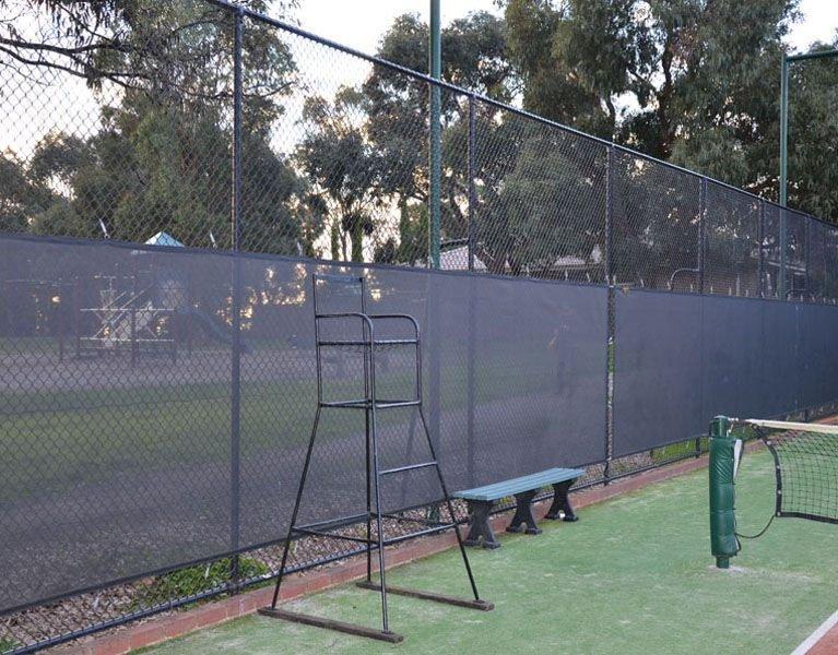 tennis sport fence Melbourne
