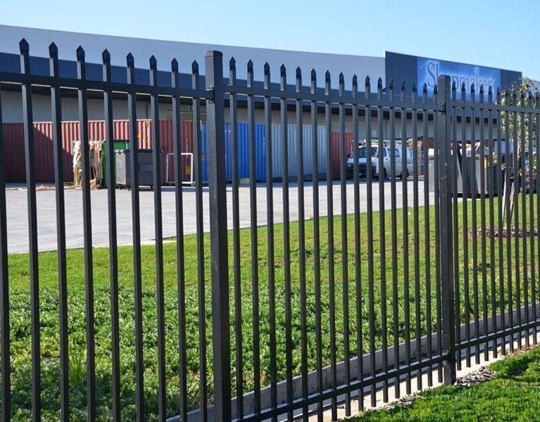 warehouse security fence Melbourne