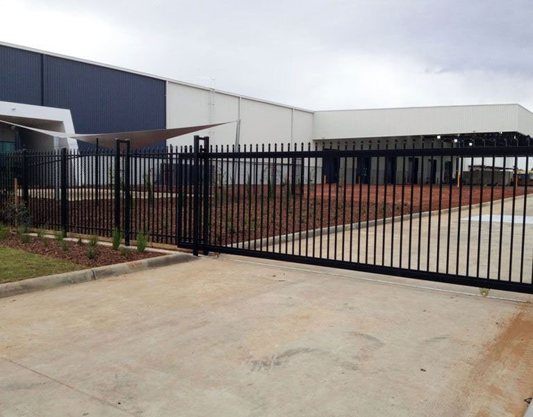 warehouse security gate Melbourne