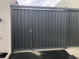 colorbond steel gate in melbourne epping