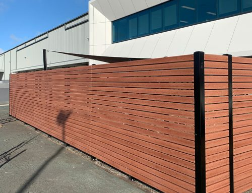 Brushed & Smooth Surface Of Modwood Fencing