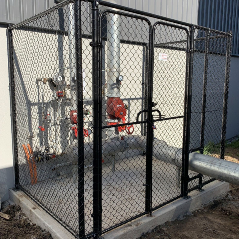 Protect The Pipes With Protective Chain Link Cage - Laverton, Melbourne
