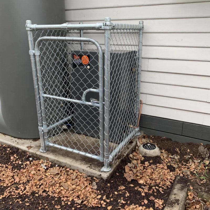 Protective Chain Wire Cage In Coburg, Melbourne