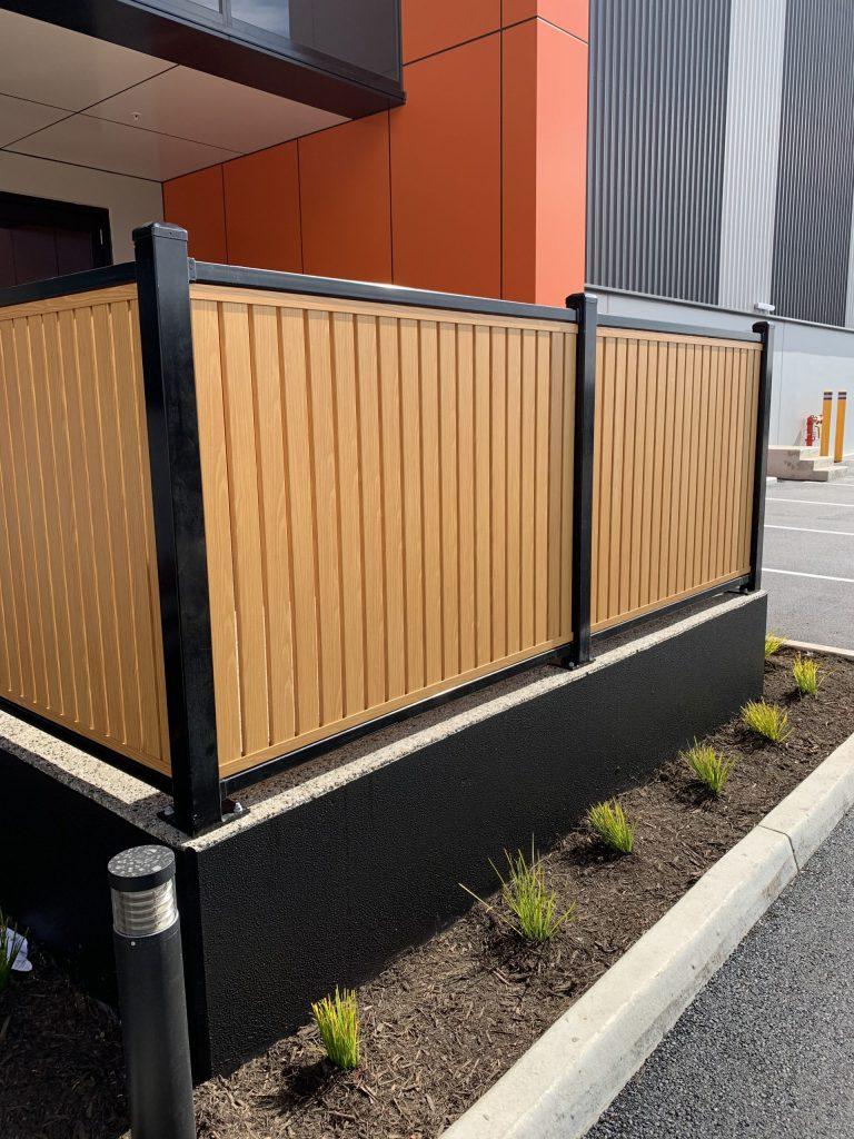 aluminium slat fence melbourne