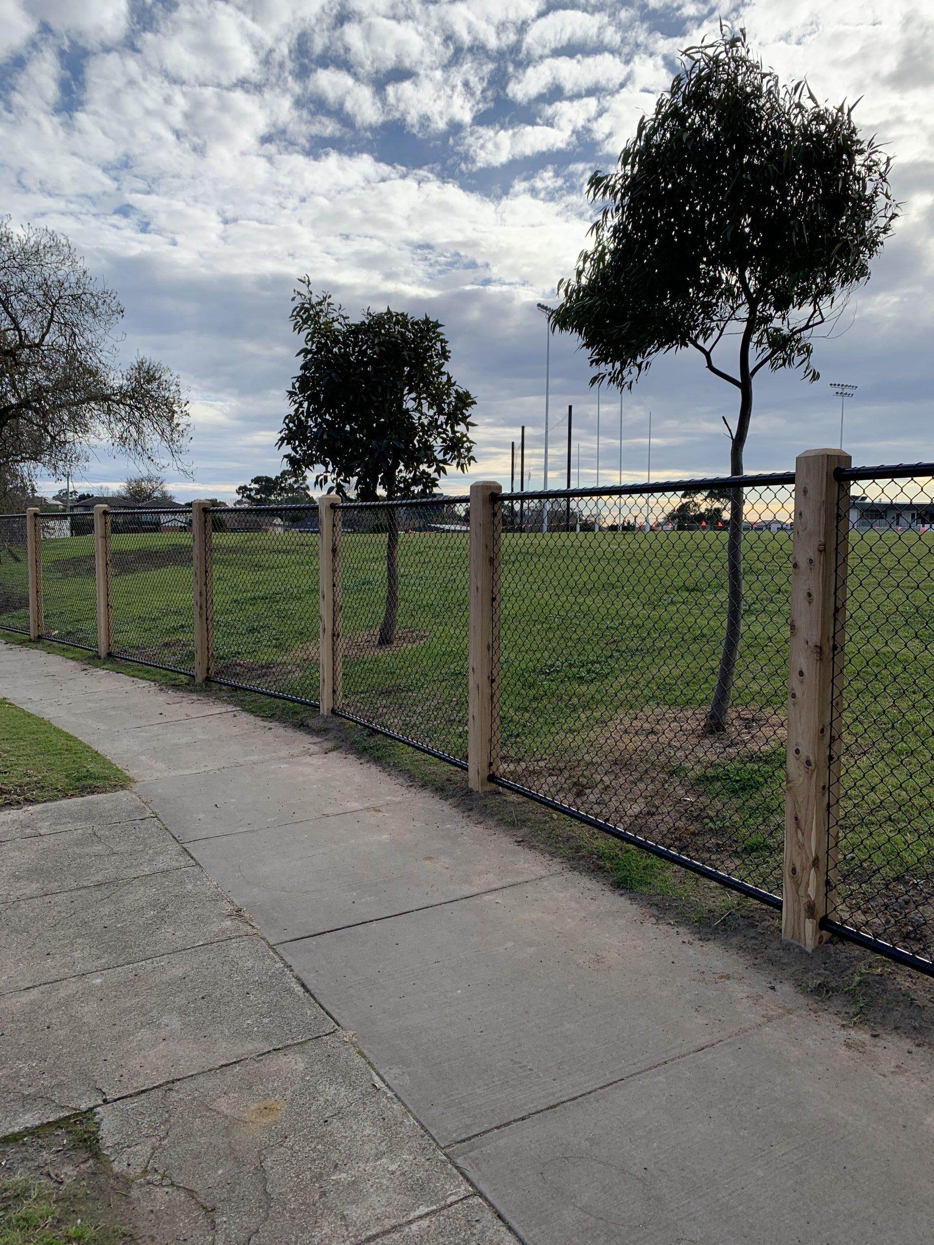 security fencing chain wire Melbourne Moorabbin