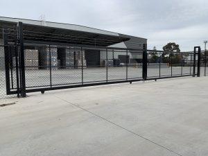 chain mesh sliding gate Melbourne