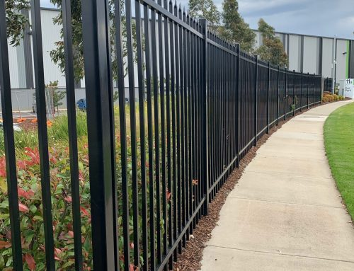 Tubular Steel Fencing – Moorabbin Airport, Melbourne
