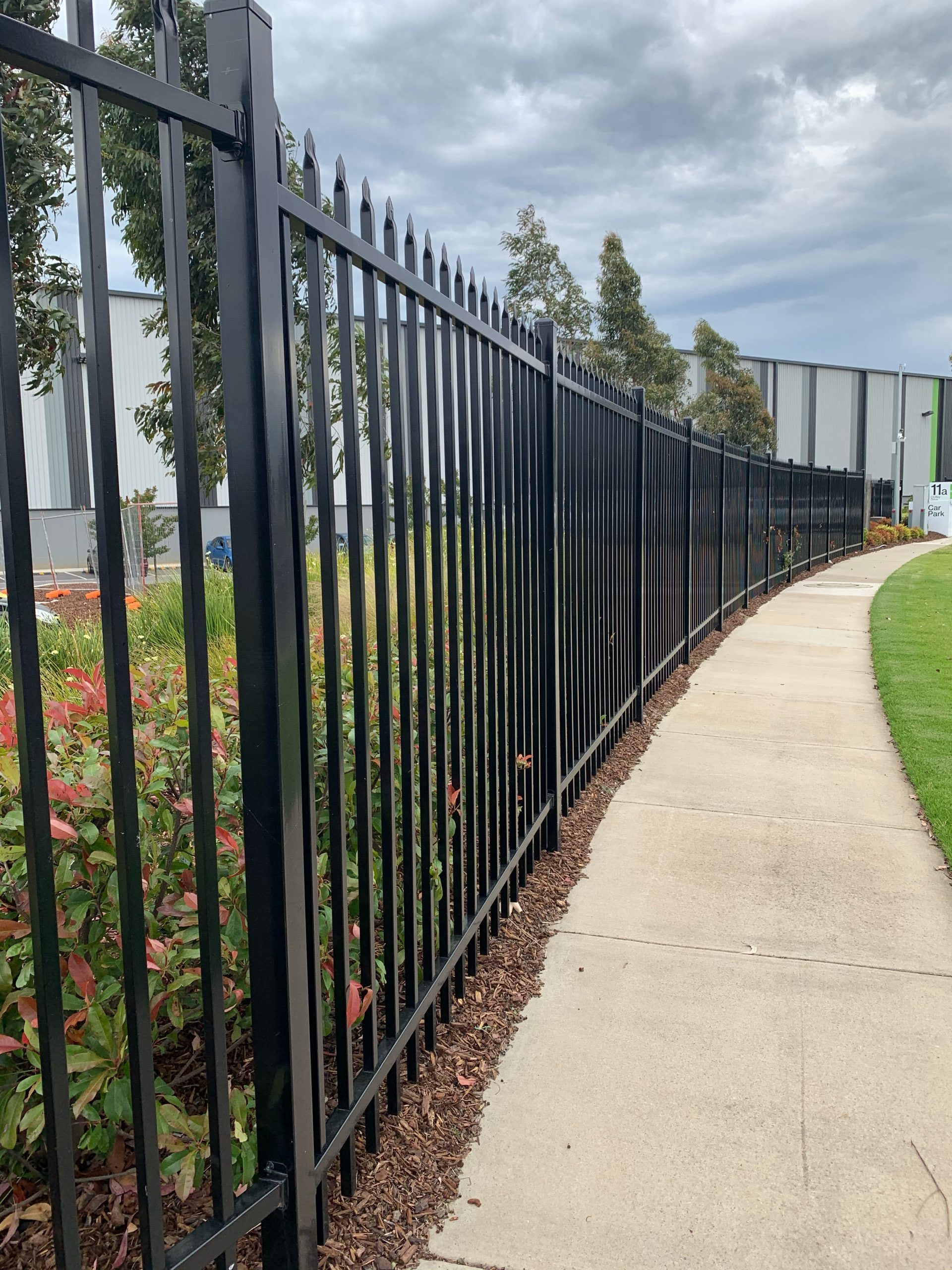 tubular steel fencing moorabbin melbourne