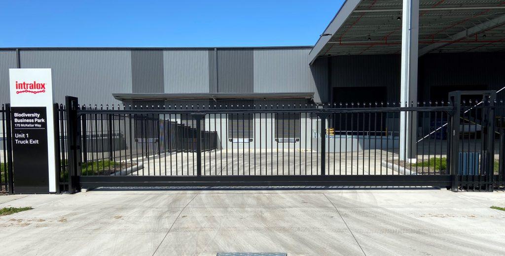 sliding industrial steel gates
