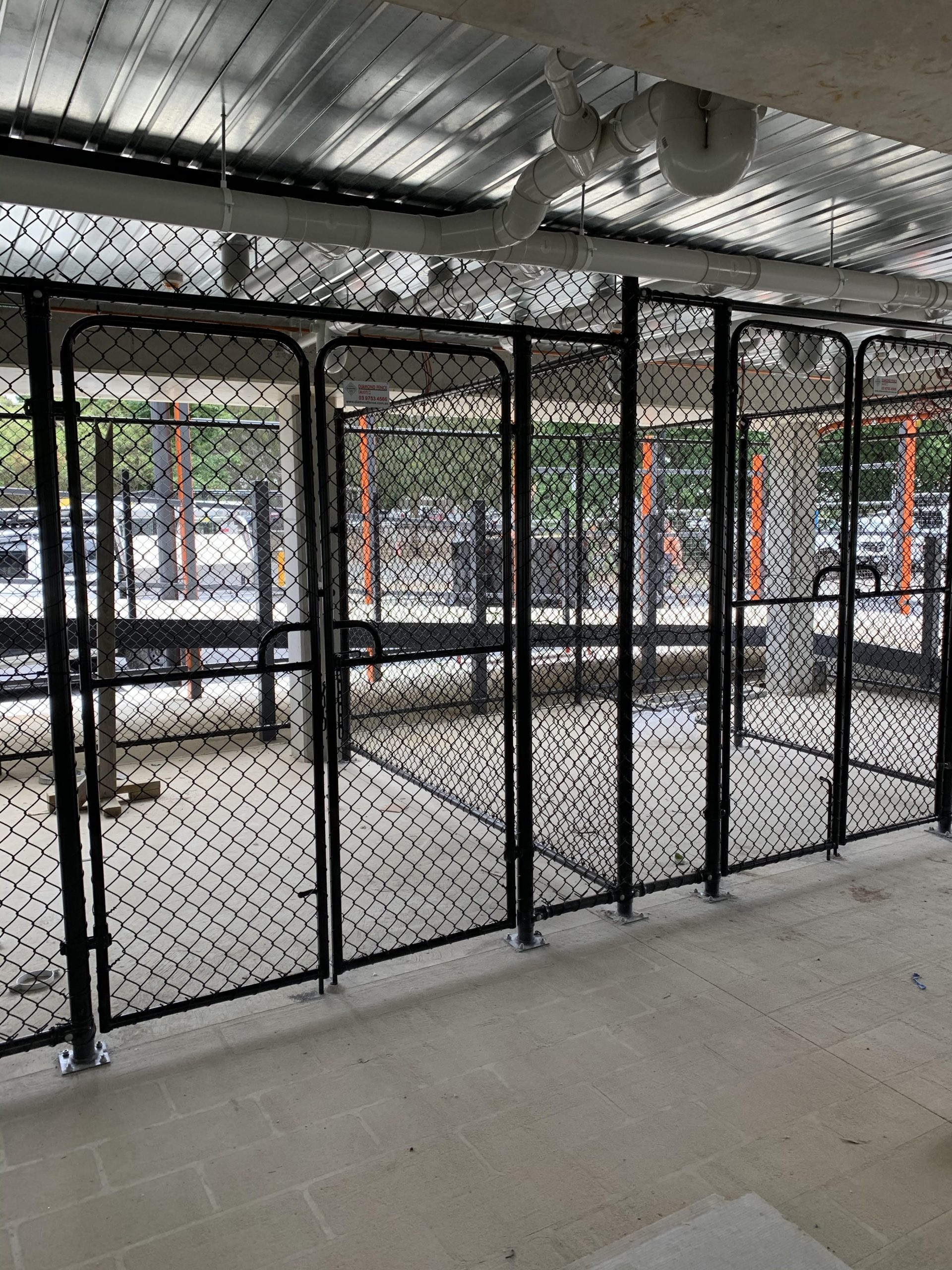 chain link enclosure