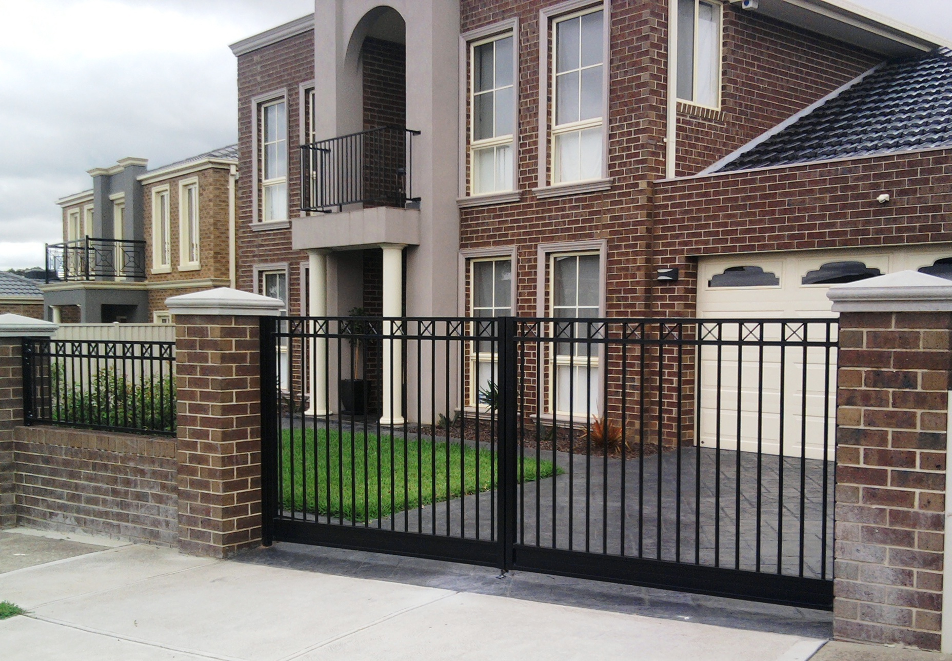 domestic steel gates