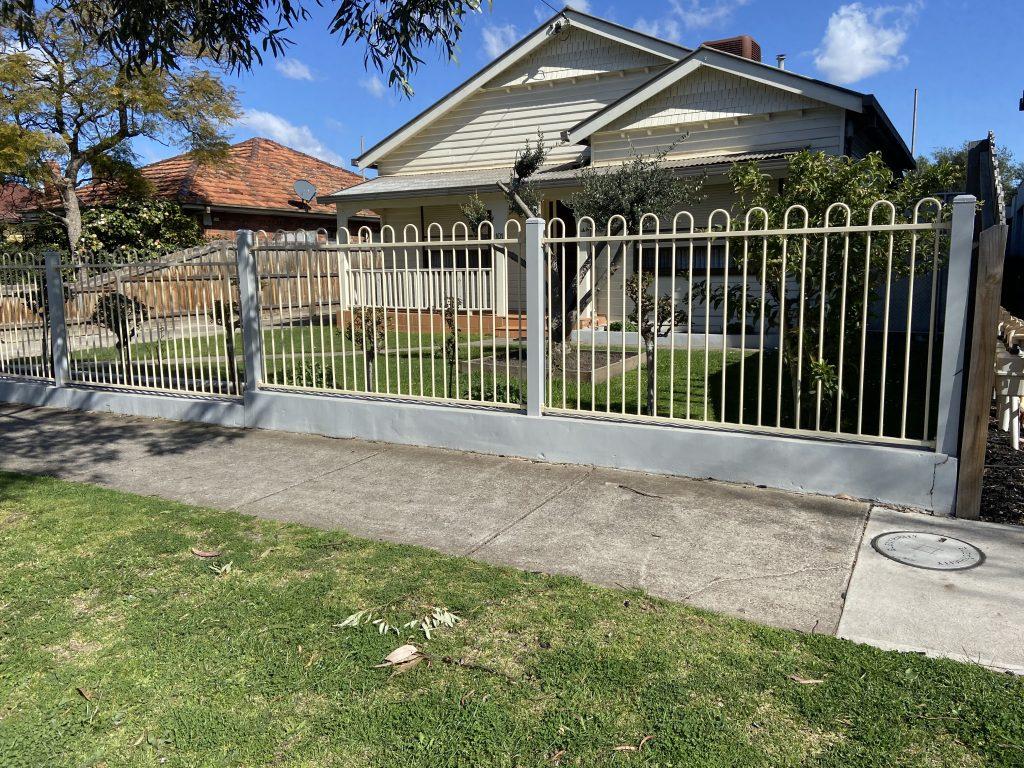 tubular residential gates