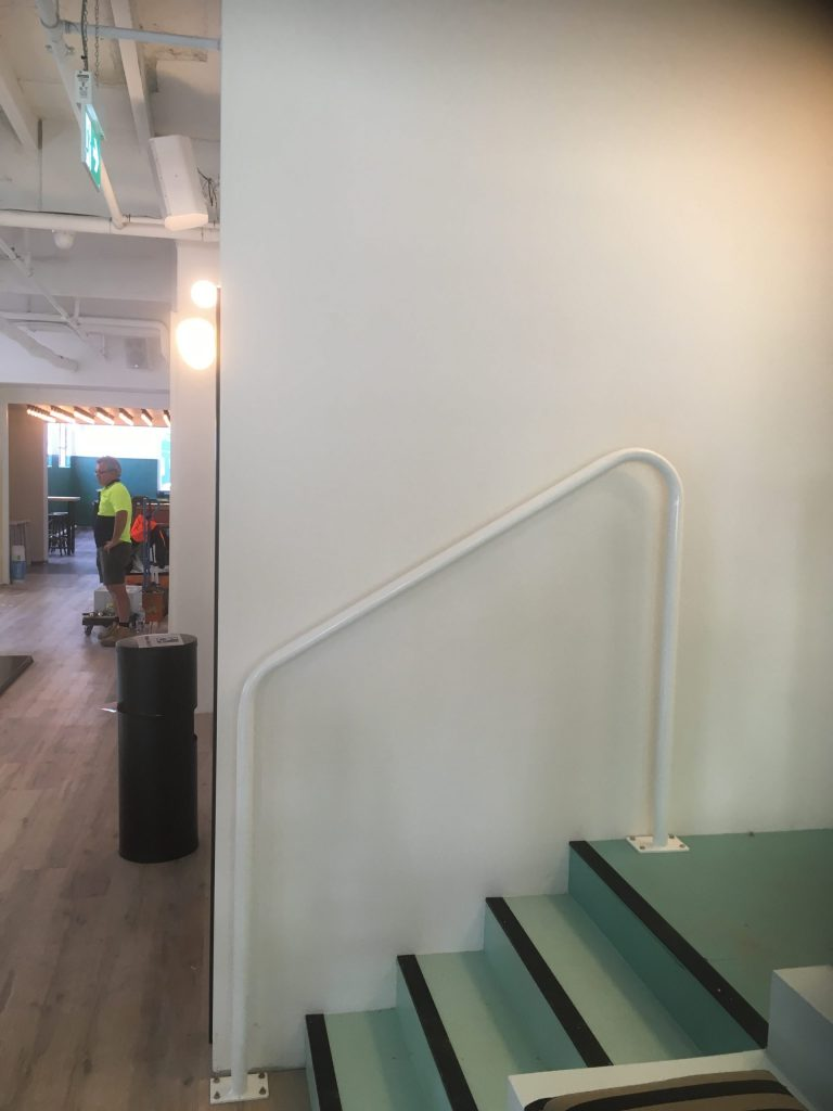 staircase handrail