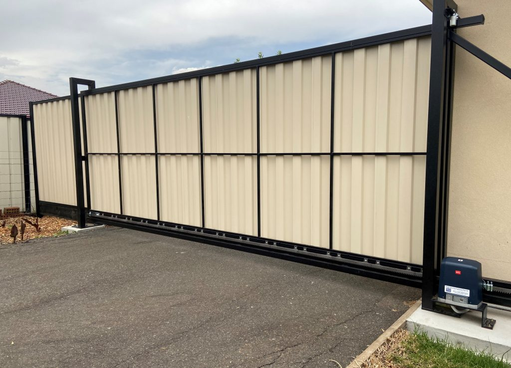 Colorbond automatic gates melbourne